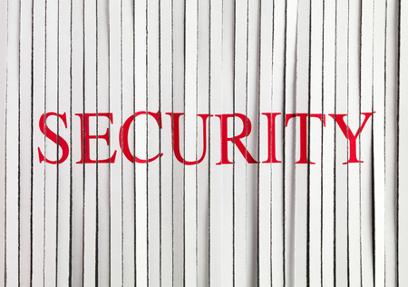 shredded paper: Shredded Paper with security Stock Photo