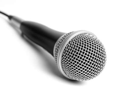 Microphone Isolated on white photo