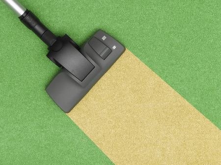 personal de limpieza: Aspirador limpiar la alfombra
