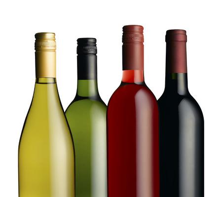 merlot: Wine bottle