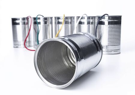 Tin Can Telephone exchange photo