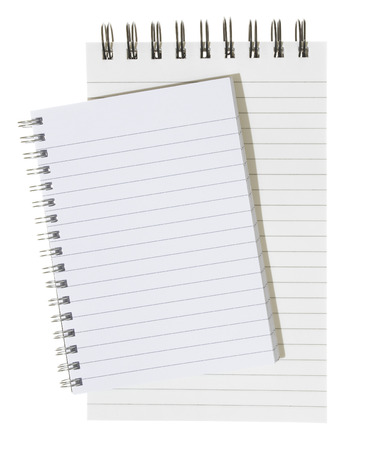 Isolated note Pad photo