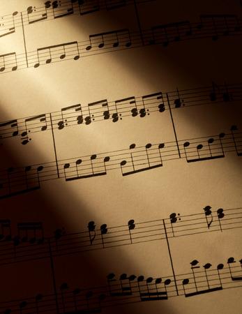 partition musique: Score musique