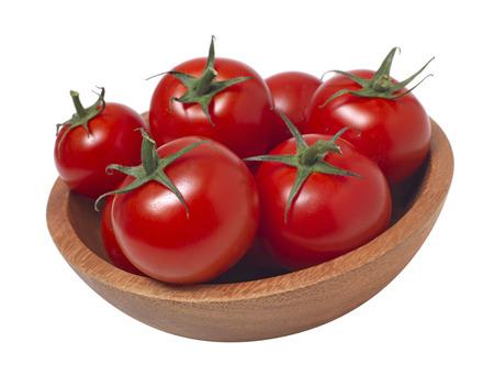 Tomato in bowl photo