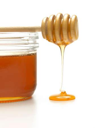 dipper: Honey dipper Stock Photo