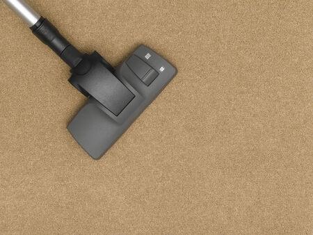 vacuum cleaner: Vacuum Cleaner cleaning the carpet