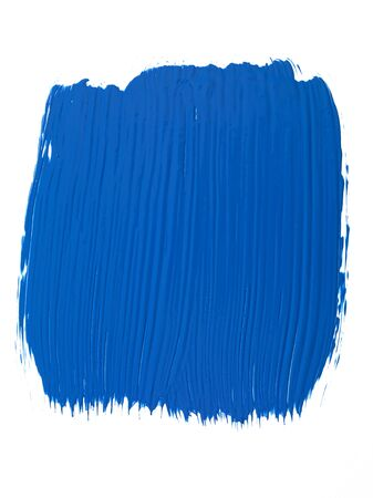 paint samples: Isolated Blue Paint Swatch