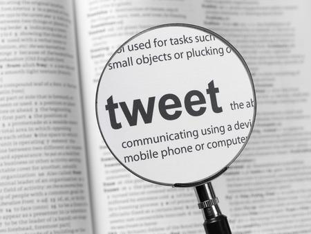 tweet: Dictionary highlighting Tweet
