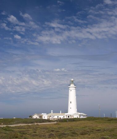 The lighthouse at Cape St Francis, South Africa