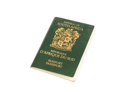 A South African passport