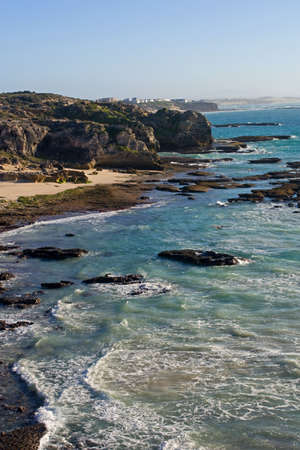 The coast near the little town of Arniston, South Africa Stock Photo