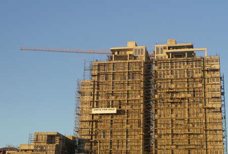 Apartment block under construction