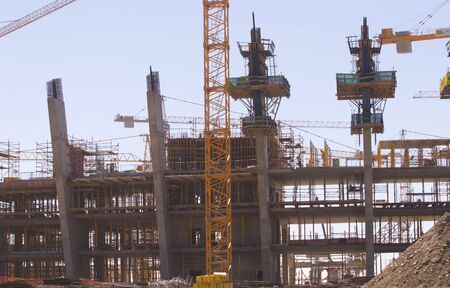 Construction of the new Olympic Ctadium,Cape Town, South Africa