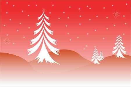 Christmas scene Stock Vector - 3543081