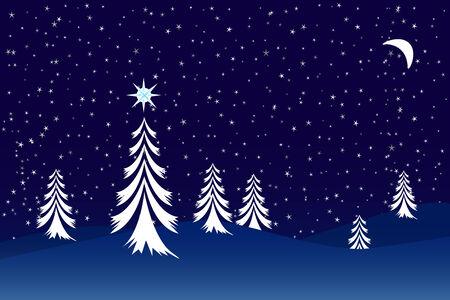 Christmas scene Stock Vector - 3653998