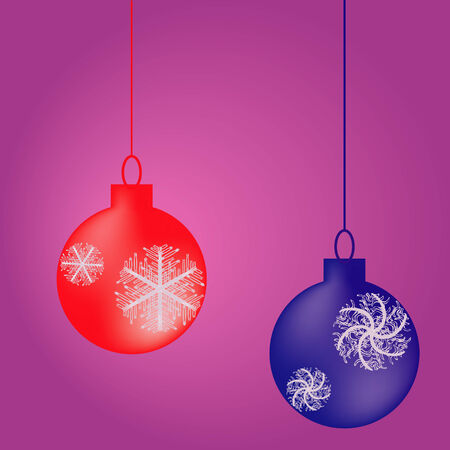 Christmas balls Stock Vector - 3903423
