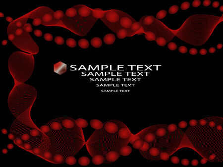 Abstract background image with space to include text -  fully editable Illustration