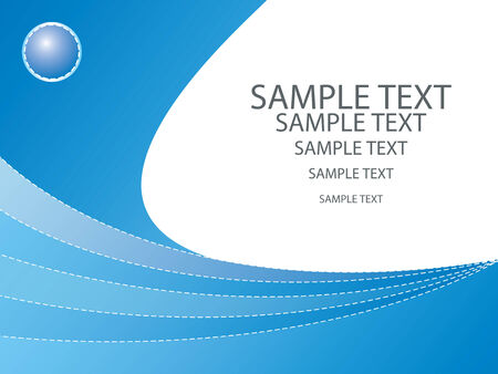 Abstract background design with space to include text - fully editable