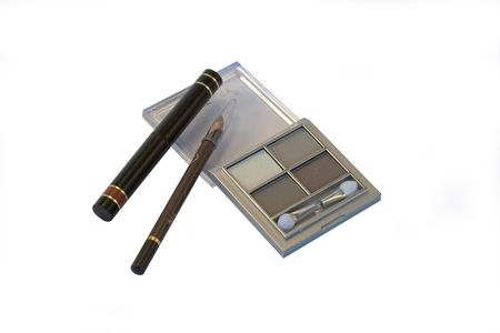 Set of make up and eye liner pencils