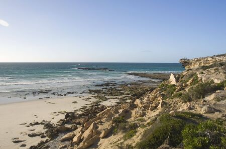 The rocky and hazardous coastline of South Africa Stock Photo - 6449903