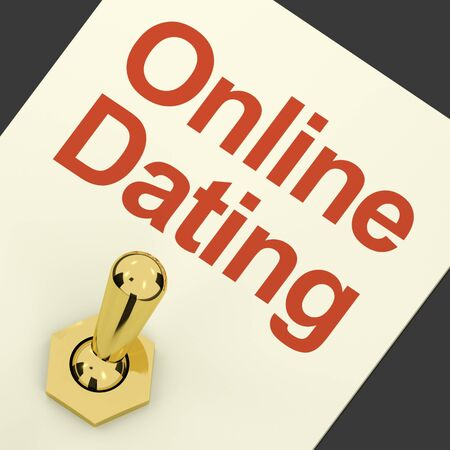 Online Dating Switch On For Romance And Love Stock Photo - 12637409