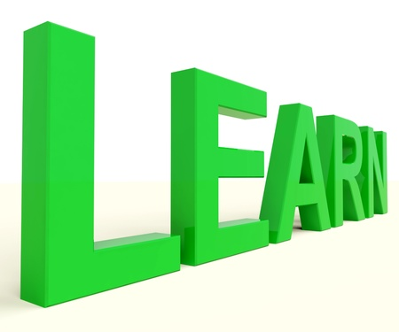 elearn: Learn Word For Getting Education Or Online Learning