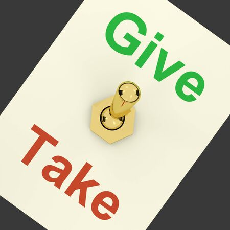 contributor: Give Take Switch Showing That Giving Should Be More Important