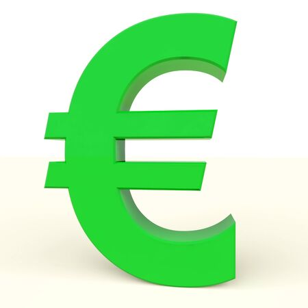 Euro Sign As Symbol For Money Or Investment In Europe Stock Photo - 12637016