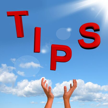 hints: Catching Tips Letters Meaning Hints And Guidance