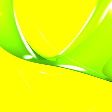 vibrance: Fresh Yellow And Green Background Meaning Vibrance And Vitality Stock Photo