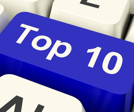 10 key: Top Ten Key Shows Best Rated In Charts