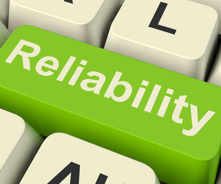 certain: Reliability Computer Key Shows Certain Dependable Confidence