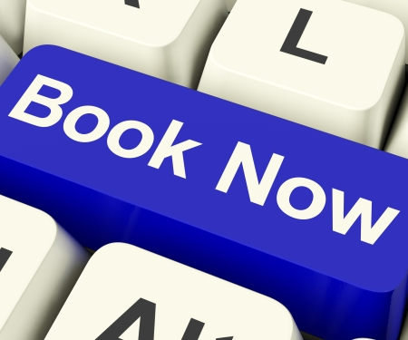 Blue Book Now Key For Hotel Or Flights Reservation Online