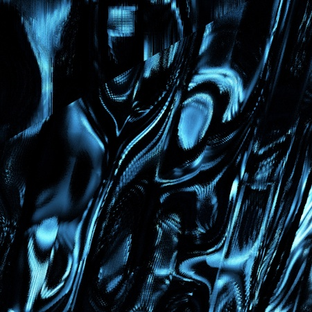 bumpy: Shiny Blue Foil Like Background Reflective Bumpy And Crinkled