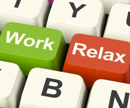 cansancio: El trabajo demuestra la decisi�n de Relax Claves Para tomar un descanso o Inicio Retiro