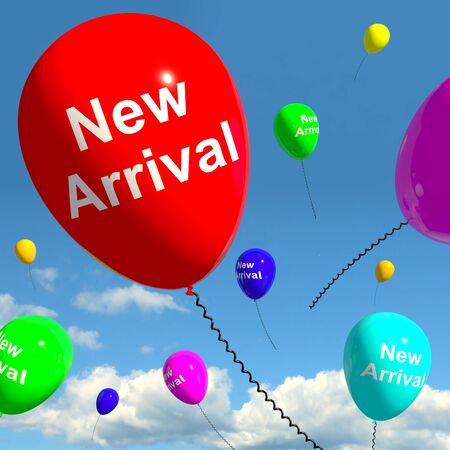 new arrival: New Arrival Balloons In The Sky Shows Latest Product Online Or New Baby
