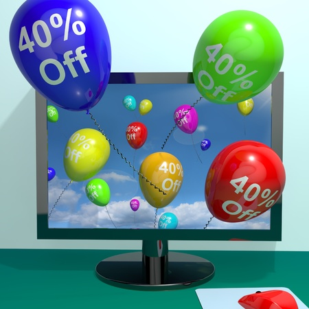 markdown: 40% Off Balloons From Computer Shows Sale Discount Of Forty Percent Online