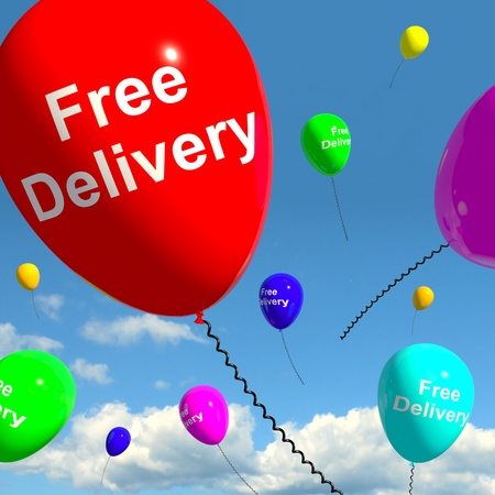 included: Free Delivery Balloons Shows No Charge Or Gratis To Deliver