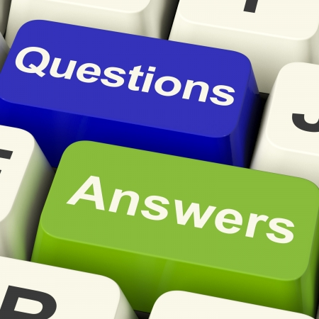 query: Questions And Answers Computer Keys Showing Support Knowledge And Wiki Stock Photo