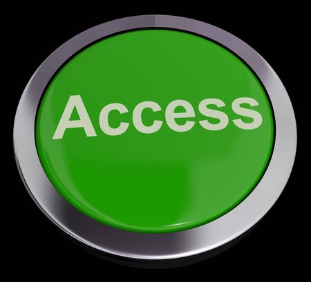 permissions: Access Button In Green Showing Permissions And Security