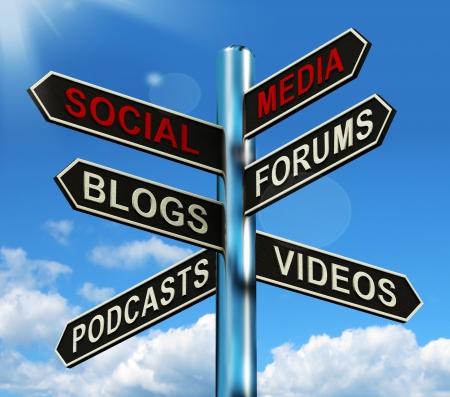 apoyo social: Orientaci�n de los Medios de Comunicaci�n Social muestra apoyo Informaci�n y la Comunicaci�n Foto de archivo