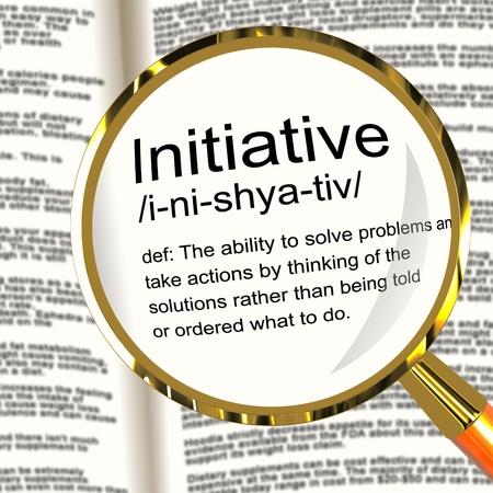 iniciativas: Iniciativa Definici�n Lupa Muestra ingenio Liderazgo y la Acci�n