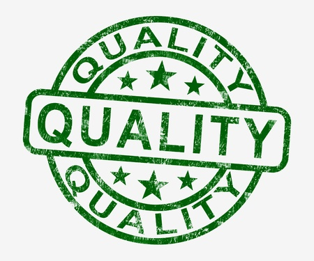 Quality Stamp Showing Excellent Superior Premium Product Stock Photo - 13965448