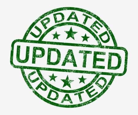 updated: Sello Actualizado muestran una mejor�a perfeccionamiento y actualizaci�n