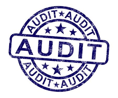 auditor�a: Sello de auditor�a muestra el examen de Contabilidad Financiera o An�lisis