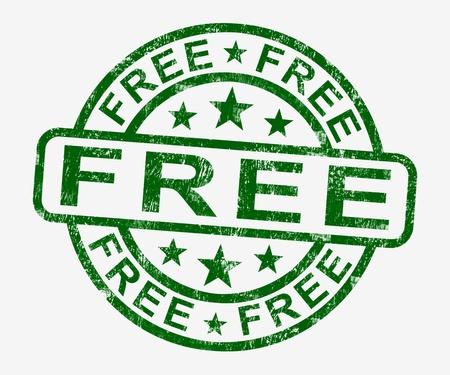 freebie: Free Stamp Showing Freebie and Promos