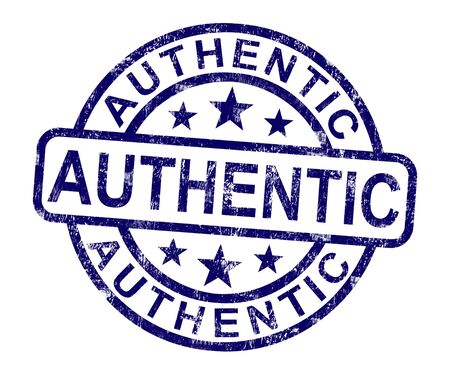 authenticity: Authentic Stamp Showing Real Certified Product Not Fake