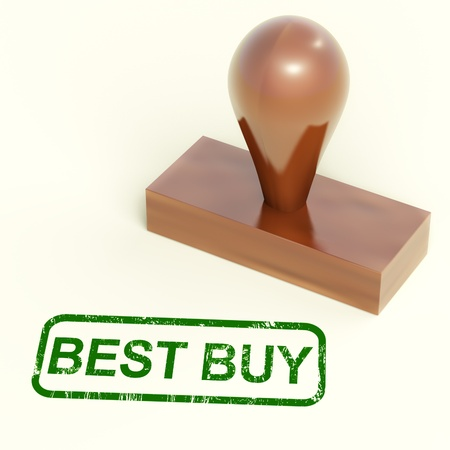 Best Buy Stamp Shows Premium Top Product Stock Photo - 14081036