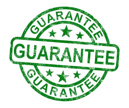 guarantee stamp: Guarantee Stamp Shows Assurance And Risk Free Purchase