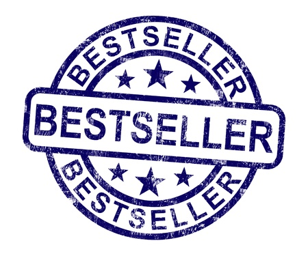 Bestseller Stamp Showing Top Rated Or Leader photo